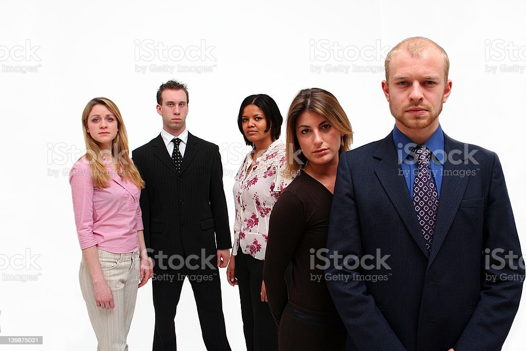 Young business team 2 royalty-free stock photo