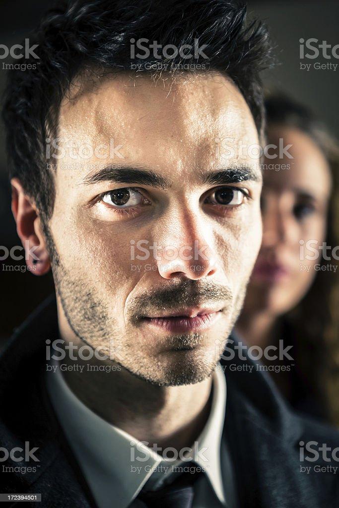 Young Businessman Closeup Portrait stock photo