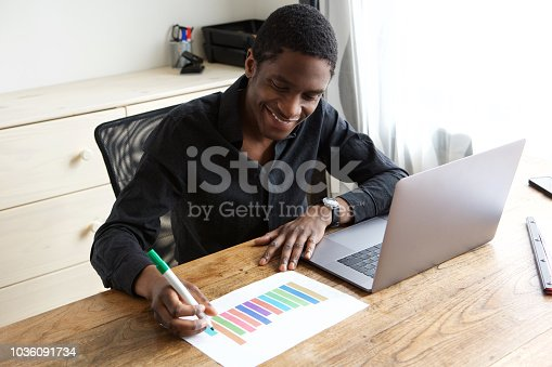 istock young businessman drawing graph on paper 1036091734