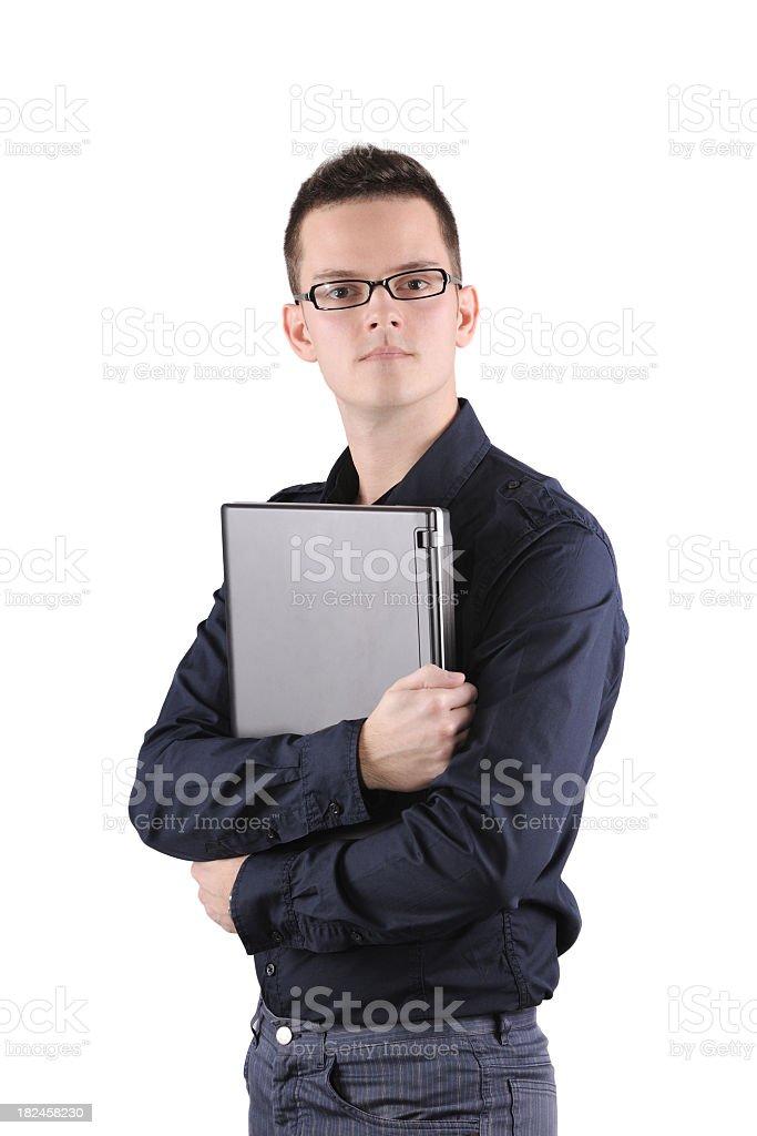 Joven businessman foto de stock libre de derechos