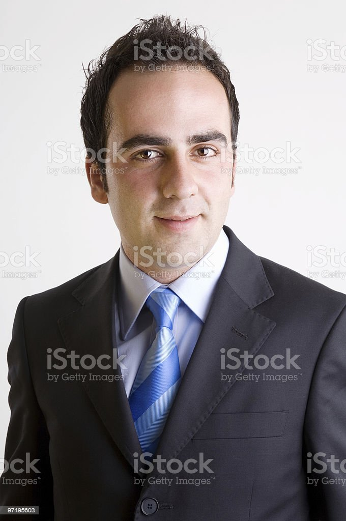 Young businessman portrait royalty-free stock photo