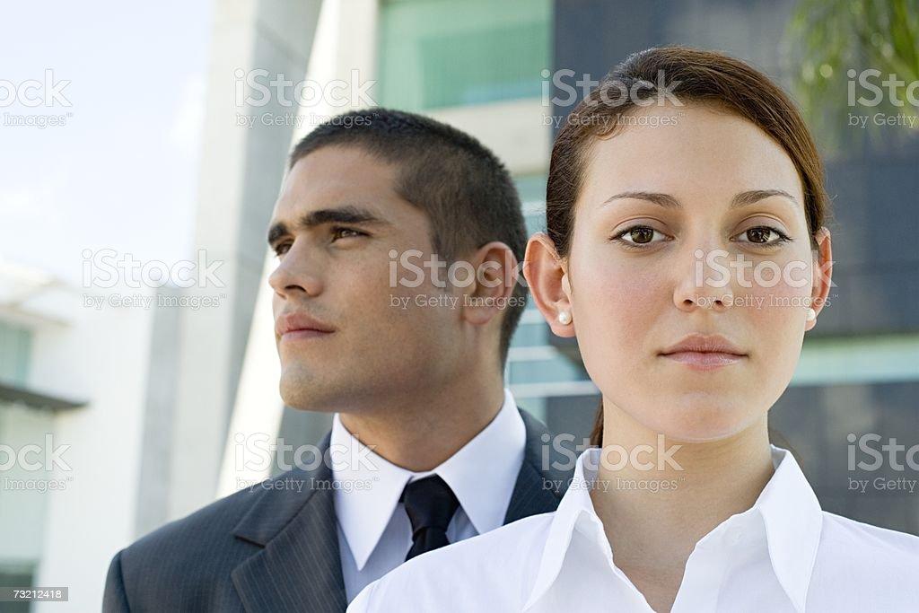 Jovens empresários foto de stock royalty-free