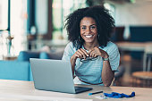 istock Young businesswoman in a modern office 1291622774