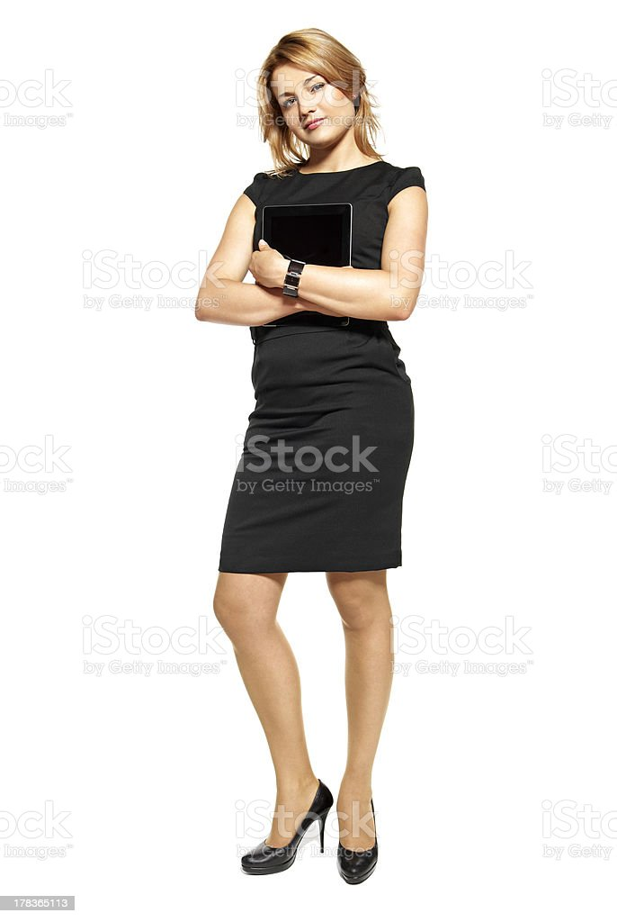 Young Businesswoman stock photo