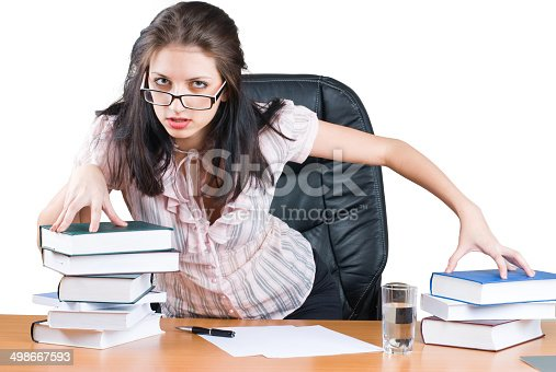 istock Young businesswoman 498667593
