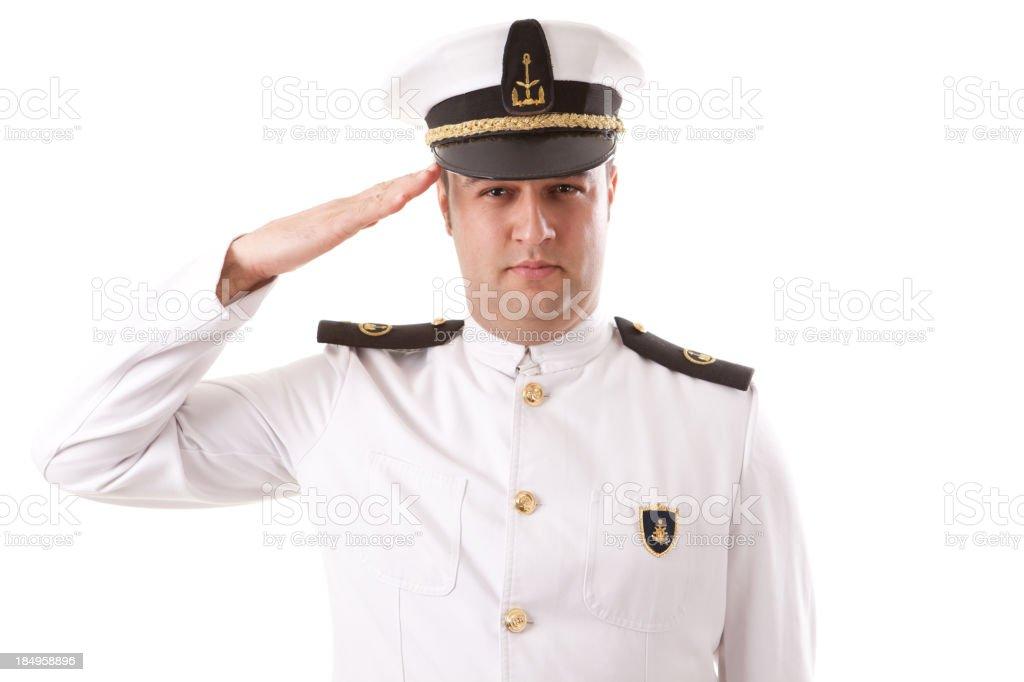 Young Captain stok fotoğrafı