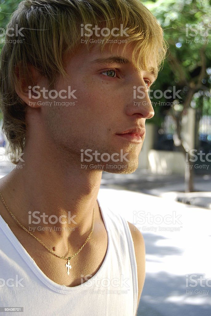 Young casual man royalty-free stock photo