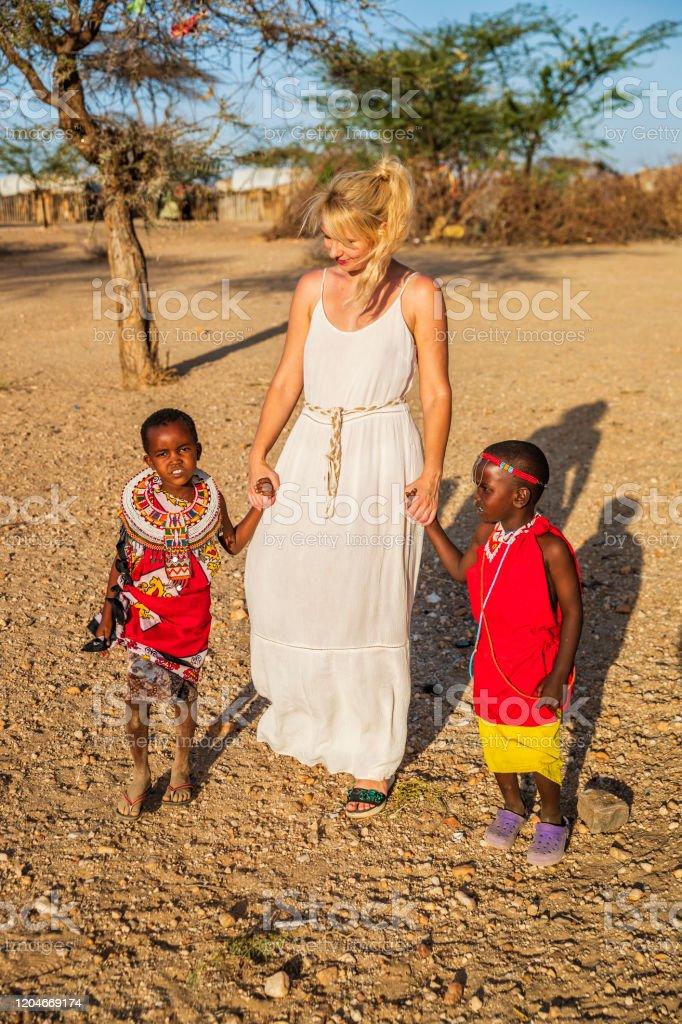 Girls kenya white in The Whites
