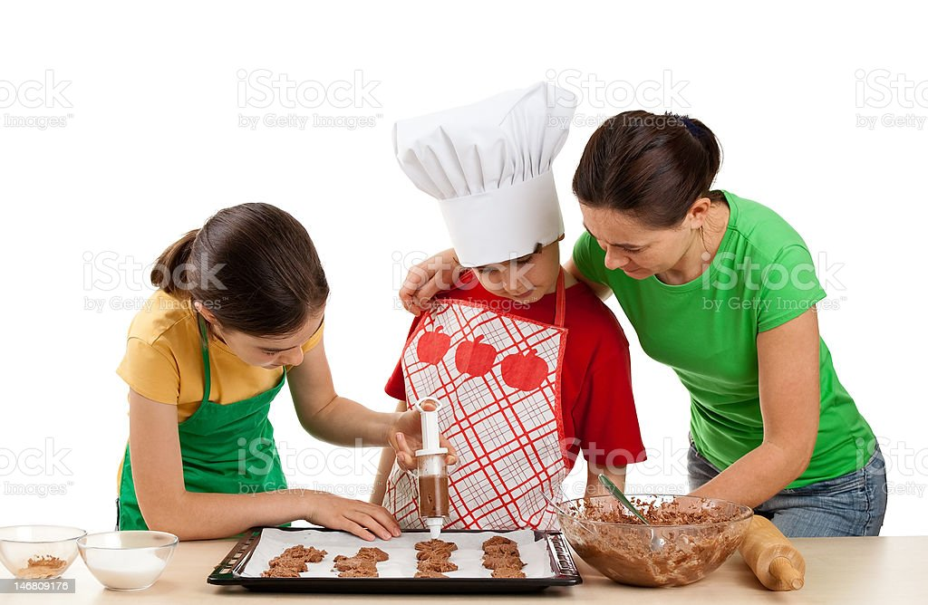 Young chefs royalty-free stock photo
