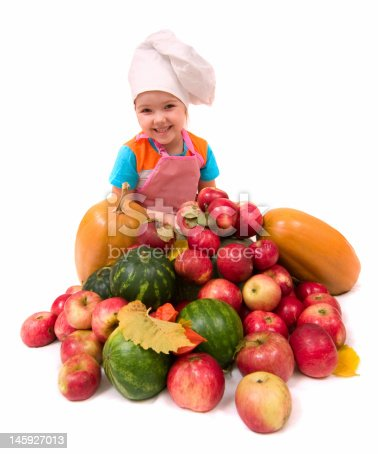 istock Young chief cook 145927013