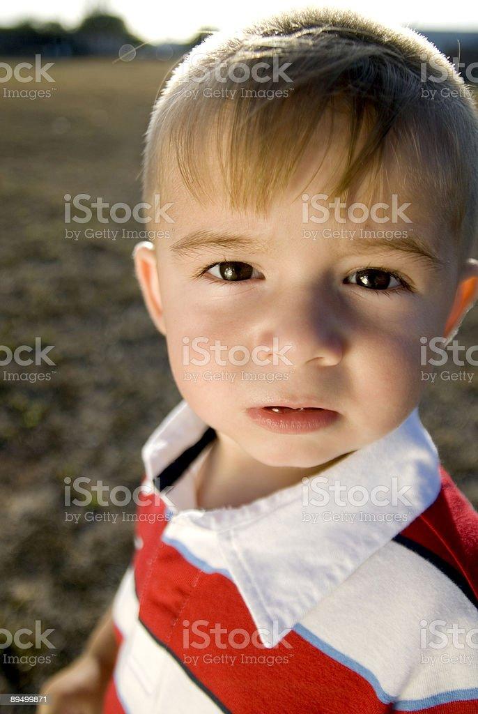 Young child royaltyfri bildbanksbilder
