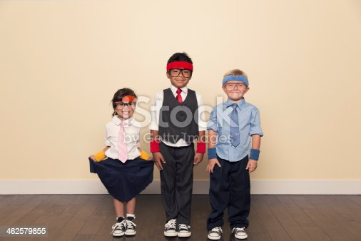 istock Young Children Business Team in Workout Clothes 462579855