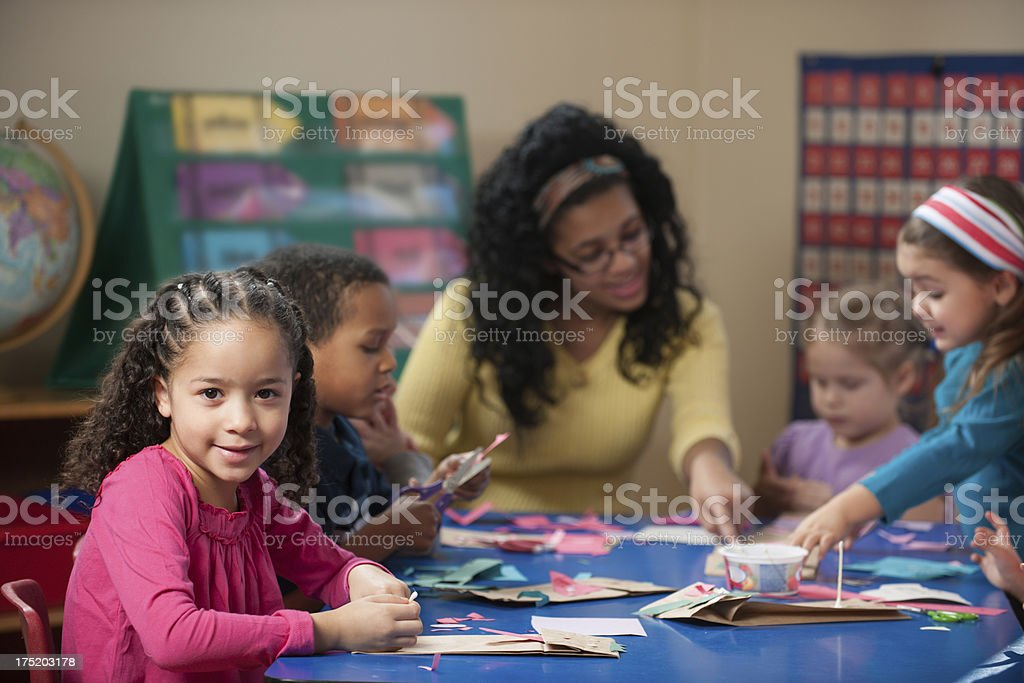 Young children royalty-free stock photo