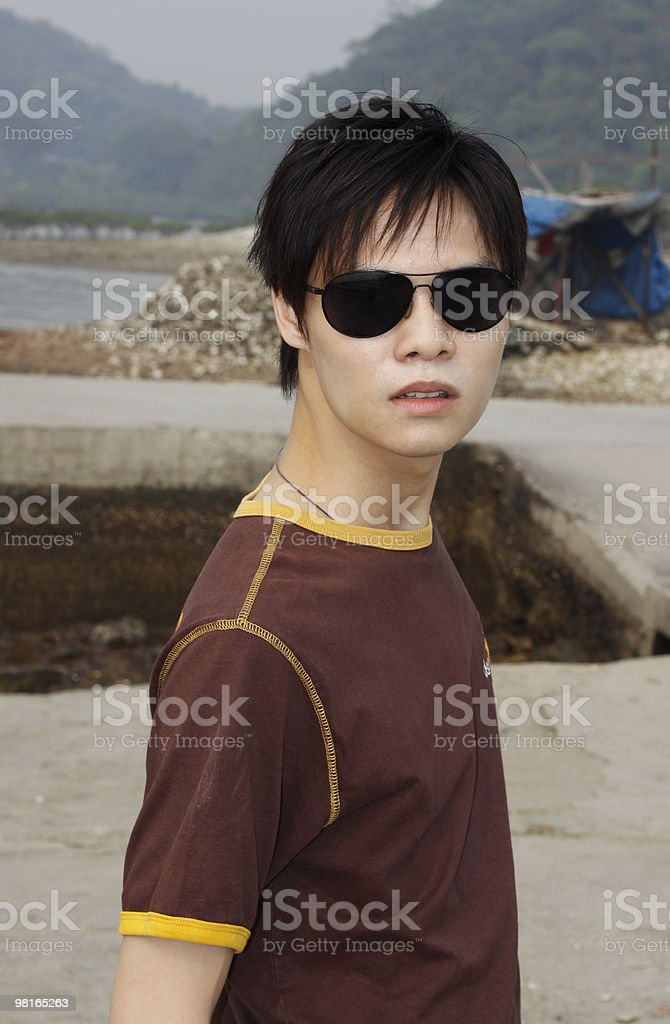 Young Chinese Man royalty-free stock photo