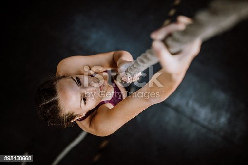 istock Young Climber 898430668