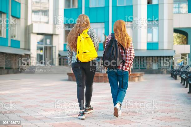 Young college girl friends with natural reddish hair going to picture id956458572?b=1&k=6&m=956458572&s=612x612&h=6nrxdnxxb88ye1nkhy2j txdyzk7fa06x 2meb7dvvc=