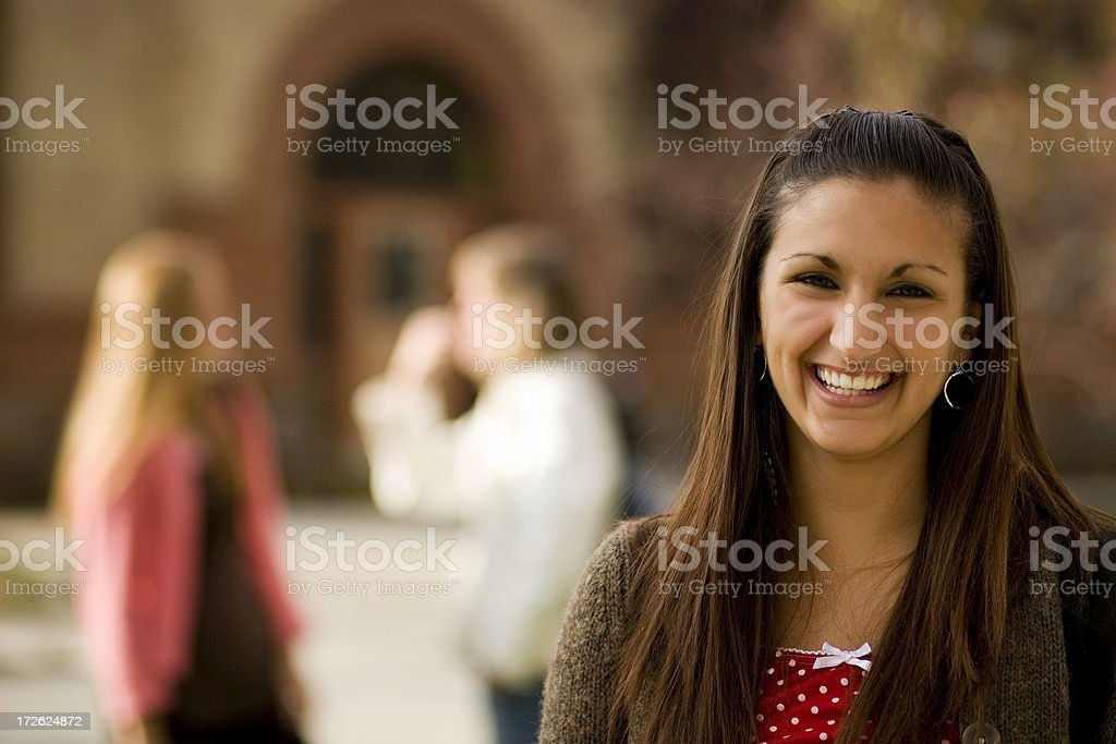 Young College Student royalty-free stock photo