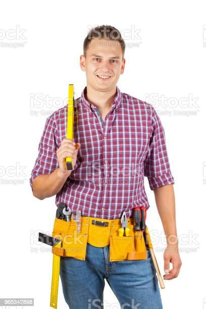 Młody Robotnik Budowlany - zdjęcia stockowe i więcej obrazów Biznes