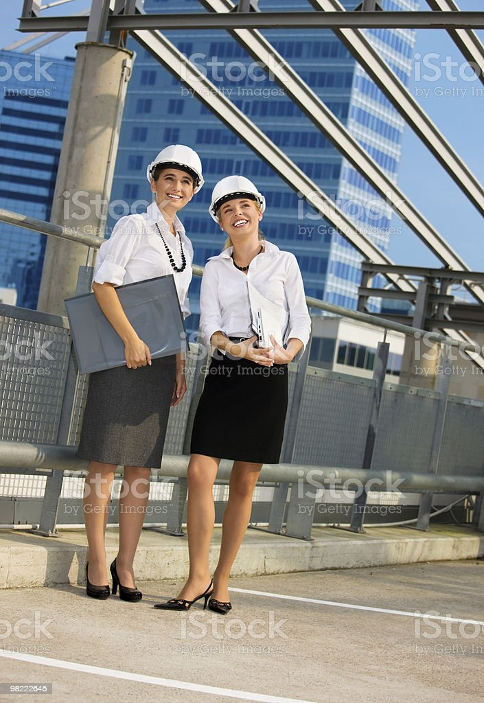 young contractors royalty-free stock photo