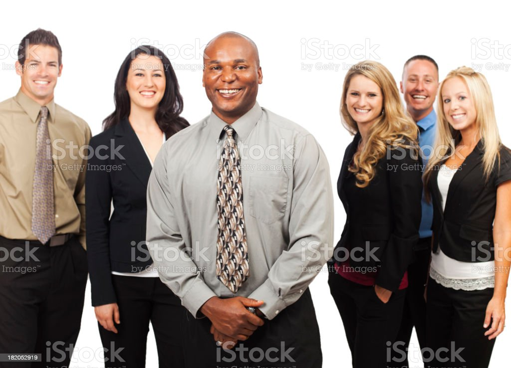 Young Corporate Team Portrait royalty-free stock photo