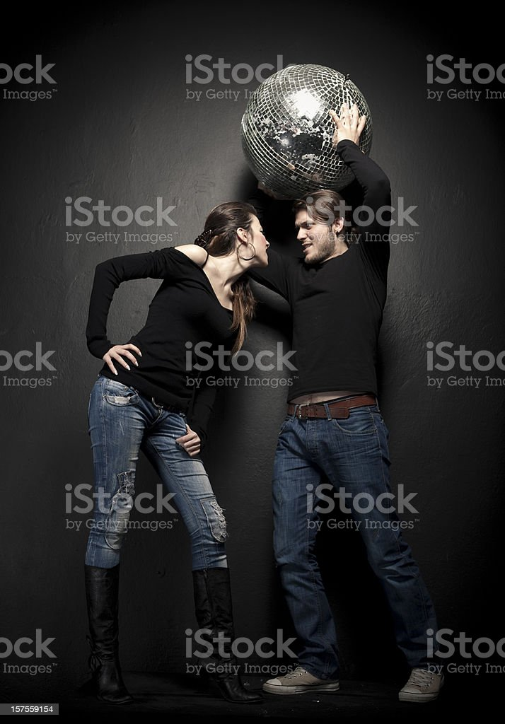 Young couple arguing and fighting. royalty-free stock photo