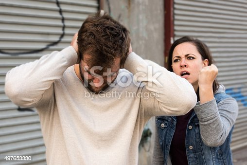 468456828istockphoto Young couple arguing 497653330