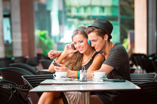 Young Couple Dating Stock Photo - Download Image Now