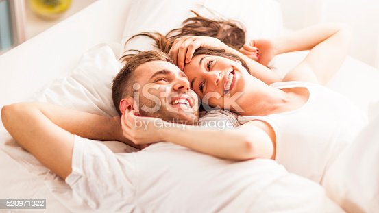 istock Young couple daydreaming 520971322