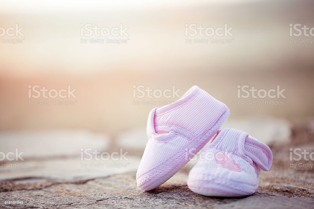 young couple expecting a new baby stock photo