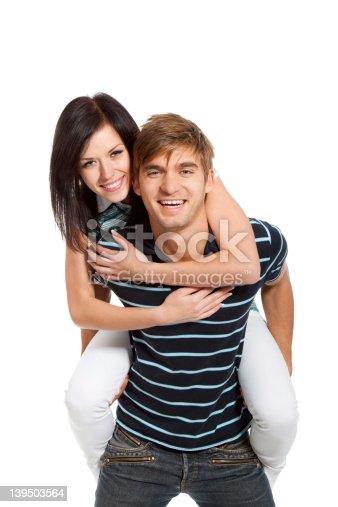 636831570 istock photo young couple happy smile 139503564