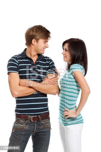 636831570 istock photo young couple happy smile 139564840