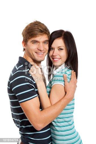 636831570 istock photo young couple happy smile 151914774