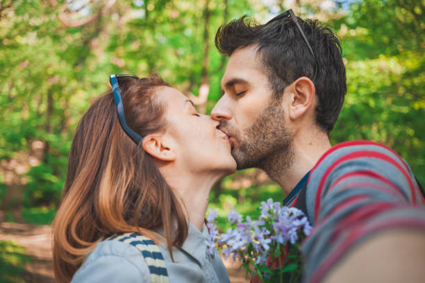 Royalty Free Pics Of Couple Kissing Romantic Pose Pictures Images