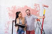 若いカップルご自宅の改装工事