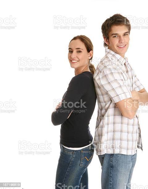 Junges Paar Stockfoto und mehr Bilder von Anzahl von Menschen