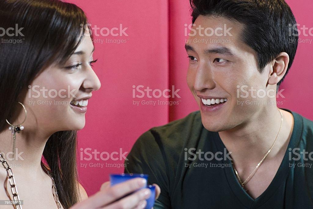 젊은 커플입니다 royalty-free 스톡 사진