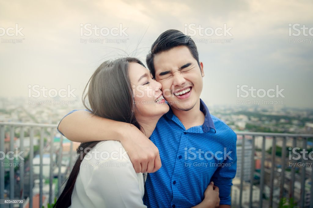 Young Couple stock photo