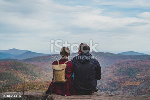 istock A Young Couple Relaxing in nature in Autumn 1040681416