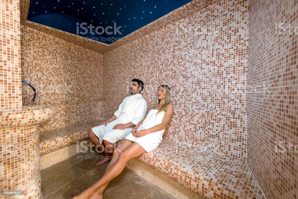 Sex im dampfbad