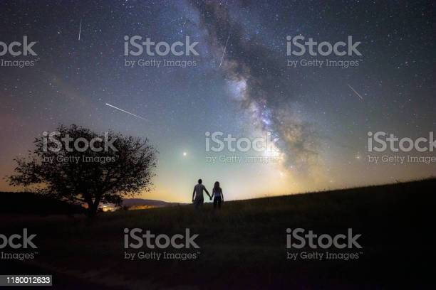 Photo of Young couple watching the