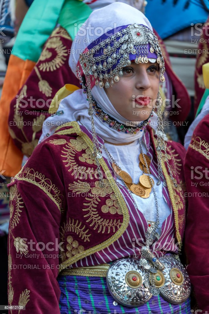 Young dancer girl from Turkey in traditional costume royalty-free stock photo  sc 1 st  iStock & Young Dancer Girl From Turkey In Traditional Costume stock photo ...
