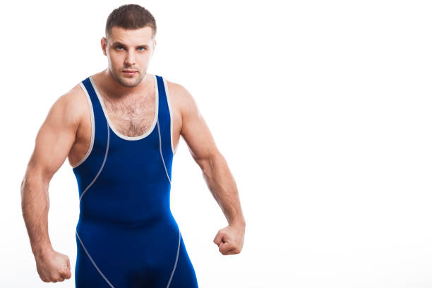 a young dark-haired - wrestling stock pictures, royalty-free photos & images