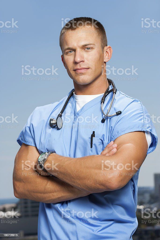 young doctor royalty-free stock photo