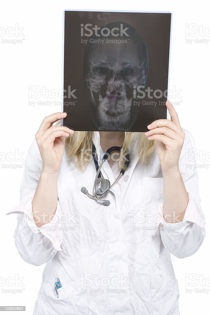 Young Doctor Series royalty-free stock photo