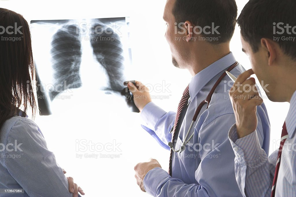 Young doctors royalty-free stock photo