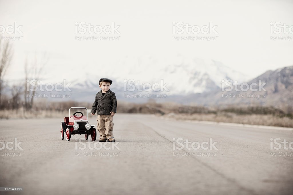 Young Driver stock photo