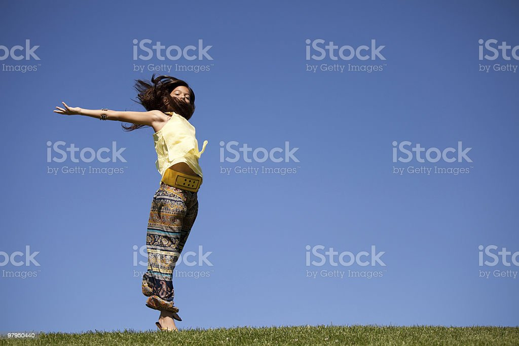 Young energy royalty-free stock photo