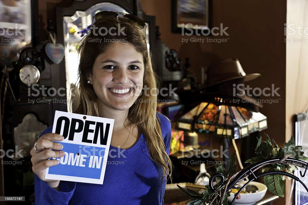 Young entrepenour royalty-free stock photo