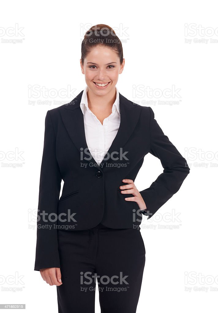 Young exec on the rise! royalty-free stock photo