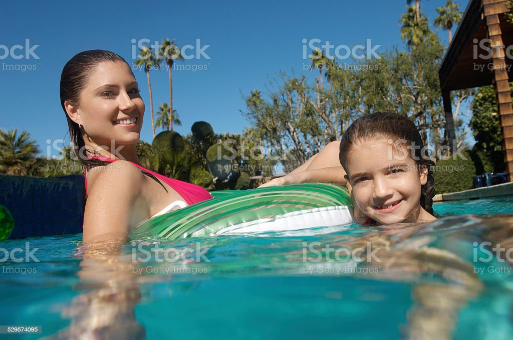 Young Family enjoying the outdoors royalty-free stock photo